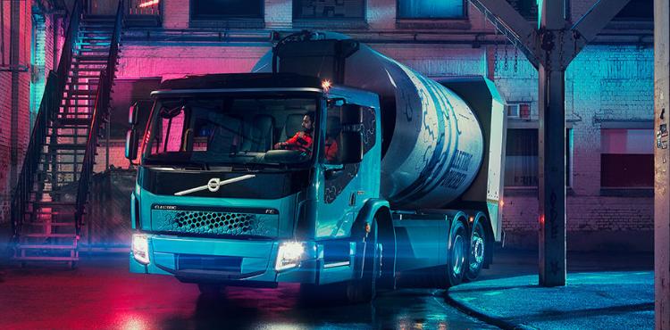 Компания Volvo презентовала электромусоровоз Volvo FE Electric