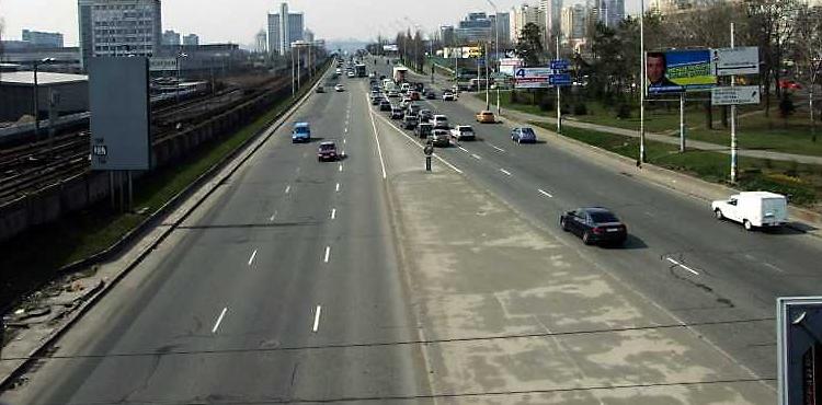 В Киеве построят новую дорогу за бюджетные деньги