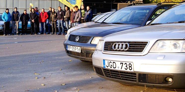 МВД не в курсе, сколько авто без регистрации ездят по Украине