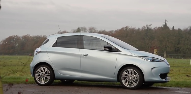 В Украине начали продавать электромобили Renault